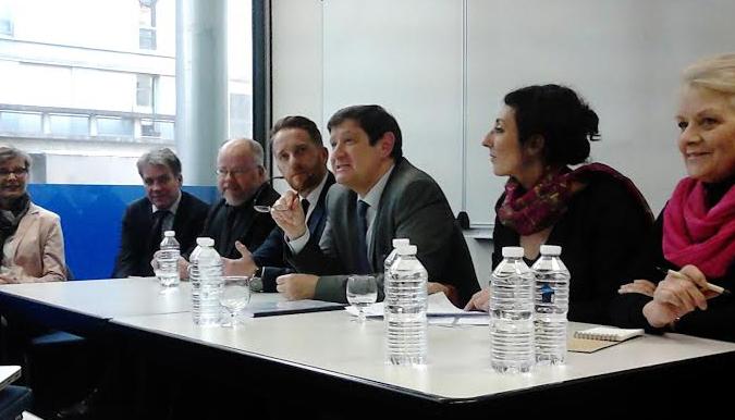 Patrick Kanner au séminaire «Valeurs de la République et laïcité » à l'INSET