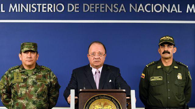 Le ministre colombien de la défense - Juan Fernando Cristo