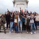 Les militants de l'UNEF à Nancy le 12/09/2017 - Crédit Photo : Elie Guckert